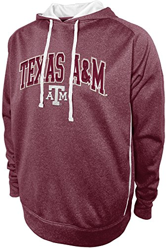 Hood Athletic Majestic (NCAA Texas A&M Aggies Pullover Hood with Contra, X-Large, Maroon)