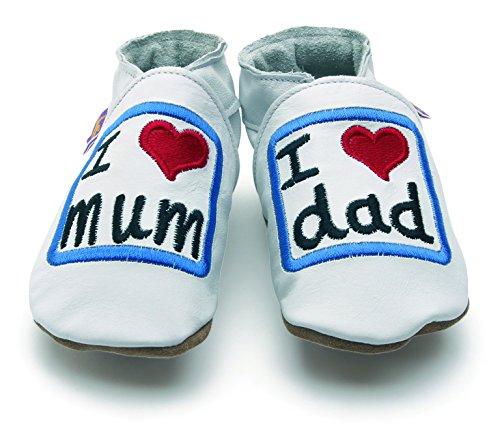 Chaussons bébé Love mum dad 12-18 Mois