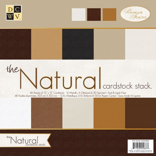 - DCWV PS-005-00086 12 by 12 Natural Solid Stack