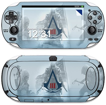 DecalGirl Decorative Skin/Decal for Sony PS Vita - AC3 Collage
