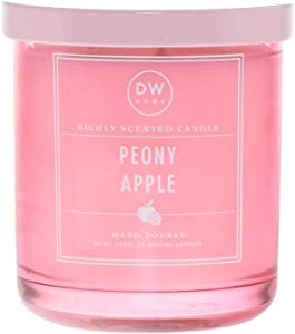 DW Home Single Wick Peony Apple Scented Candle