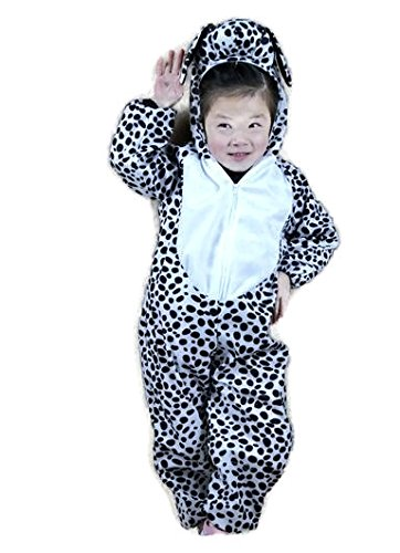 ์Nynoi Children's Day Halloween baby dalmatian costume Cosplay Clothing (Halloween Kkk Costume)