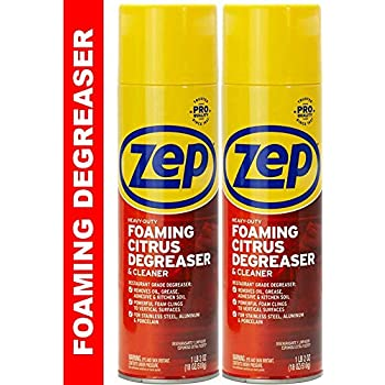 Zep Heavy-Duty Foaming Degreaser ZUHFD18 (2-Pack) - Clings to Surfaces