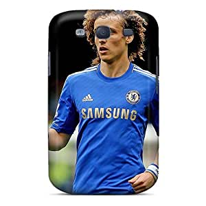 Galaxy Cover Case - The Best Defender Of Chelsea David Luiz Protective Case Compatibel With Galaxy S3