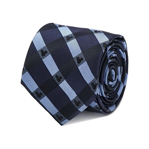 Disney-Mickey-Mouse-Blue-Plaid-Tie