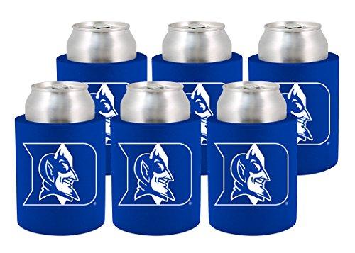 Devils Coaster Set (NCAA Duke Blue Devils Phoozie Set, 6-Pack, Blue/White)