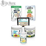 This is a combination kit composed of Dr. Berg's Electrolyte Powder, Nutritional Yeast Tablets, Lemon Wheatgrass Juice Powder, Dr. Berg's New Body Type guide, Meal Maker & Dr. Berg's New companion booklet (It's Not Lose Weight to Get Healthy, It'...