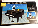 Peanuts 50th Anniversary Celebration Dancing Snoopy and Woodstock Piano