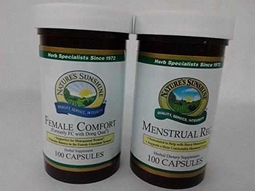 Female Comfort Menstrual Reg Bundle by Nature's Sunshine