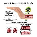Copper and Magnetic Bracelet for Men Large Copper