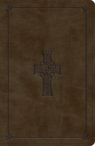 ESV Reference Bible (TruTone, Olive, Celtic Cross Design) (Bible Celtic Esv Cross)
