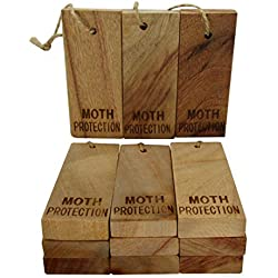 Moth Protection - Storage Essentials Aromatic Cinnamomum Camphora Root for Repeling Pests Moth Repellent ( 12 Pcs Big 3.9 x 1.6 x 0.6 in)