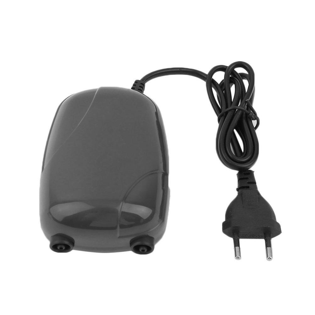ueetek 2 Air Bubble Disk Pierre - Aireador Acuario Fish Tank estanque bomba hidropónico oxígeno (EU Plug): Amazon.es: Productos para mascotas
