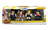 NEW 4'' JADA TOYS ACTION FIGURE COLLECTION - METALS STREET FIGHTER SET OF 4 2017 ANIME EXPO EXCLUSIVE Action Figures By Jada Toys