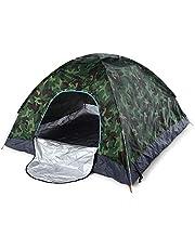 Sliverdew Barraca de acampamento, 2-4 pessoas, leve, abertura automática, barraca impermeável, pop-up instantâneo, barraca dobrável para piquenique em família, praia, jardim, pesca