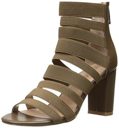 Gladiator Elastic by Sandal Charles Smooth Erika Charles Women's David pfxCqaqwH