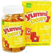 Hero Nutritionals Yummi Bears Fiber Supplement for Kids - 60 Gummies