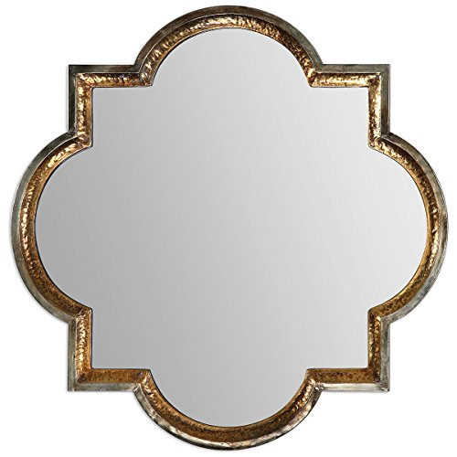 Uttermost 12862 Lourosa Mirror, Gold