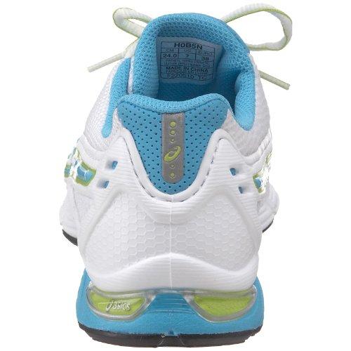 Zapato De Running Gel-finite Para Mujer Asics Blanco / Azul / Lima
