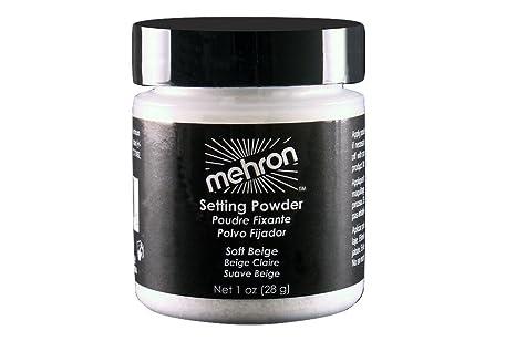 Mehron Ultrafine Setting Powder .6 oz - Soft Beige by Mehron
