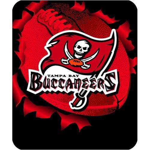 NFL Football Tampa Bay Buccaneers Licensed Rashel Throw Blanket 50