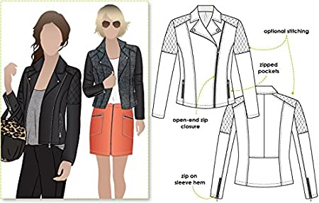 Sizes 04-16 Ziggi Jacket Style Arc Sewing Pattern - Click for Other Sizes Available by Style Arc