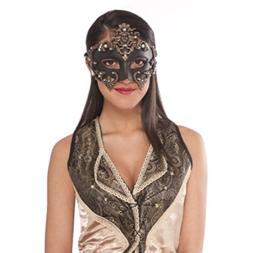 Medieval Masquerade Half Mask -