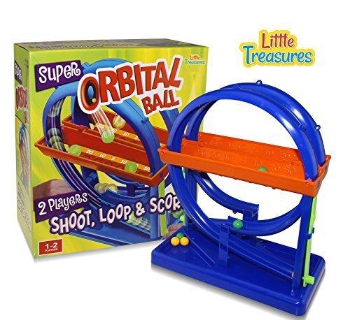 Little Treasures Super Orbit Ball Shoot Game, Mini Arcade