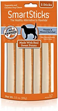 Dog Treats: SmartSticks Sweet Potato