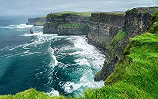 product image for County Clare, Ireland - Cliffs of Moher - Photography A-92059 (12x18 Fine Art Print, Home Wall Decor Artwork Poster)