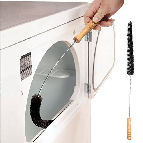 Noa Store Clothes Dryer Lint Vent Trap Cleaner Brush Dryer Lint Brush Gas Electric Fire Prevention Exhaust