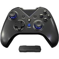 Controlador sem fio YOOXI para Xbox One, Gamepad sem fio para PC com adaptador sem fio 2.4G (Alcance ≤ 10m), compatível…