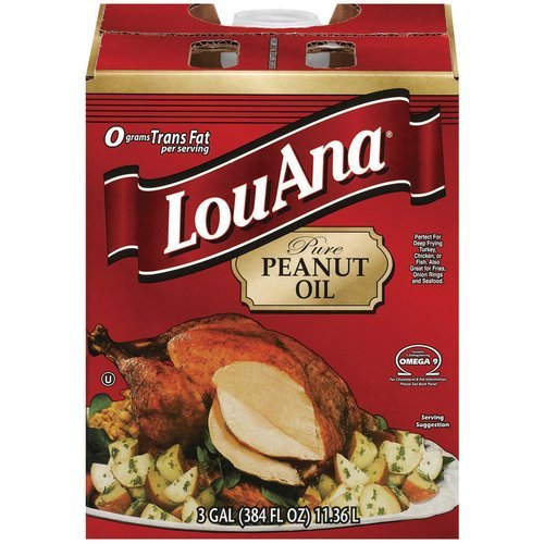 LOUANA 3 GALLON PEANUT OIL (Best Peanut Oil For Turkey Frying)