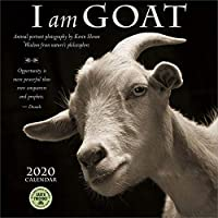 I Am Goat 2020 Wall Calendar: Animal Portrait Photography and Wisdom From Nature's Philosophers