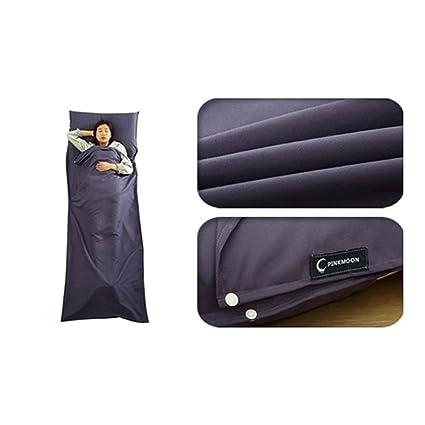 LOLIVEVE Bolsa De Saco De Dormir para Acampar Al Aire Libre 20-25 Grados C