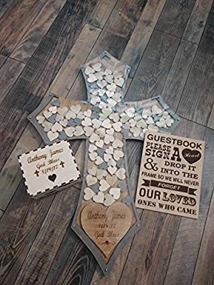 Wedding Guest Book Alternative Drop Box With 100 Boots