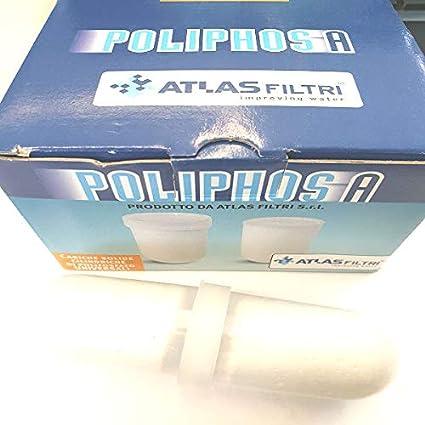 DOSAPLUS Atlas Filtri Ricarica Polvere Polifosfato Poliphos A 12 Pezzi