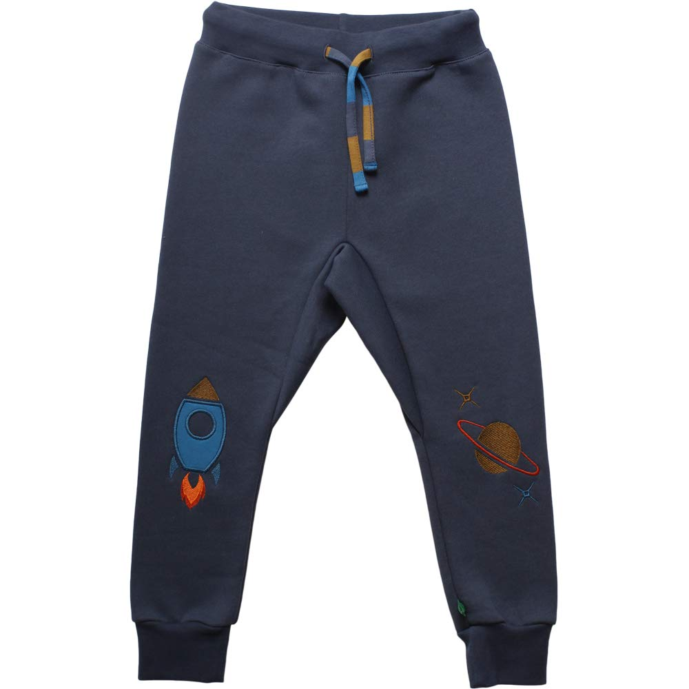 Freds World by Green Cotton Jungen Space Sweat Pants Baby Hose