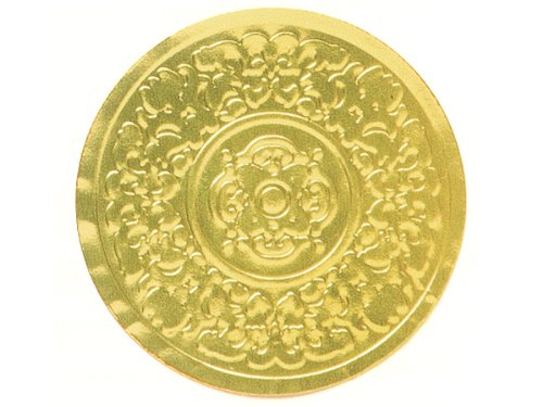 500 Gold Medallion Embossed 2
