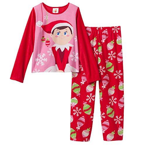 Little Girls Christmas Elf on the Shelf