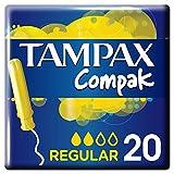 Tampax Compak Applicator Tampons Regular (20)