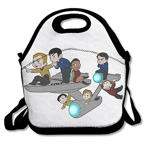 e Geek Convenient Lunch Bag For School Or Work,Black ()
