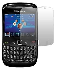 Slabo Crystal Clear - Protectores de pantalla para BlackBerry Curve 8520 (2 unidades), transparente