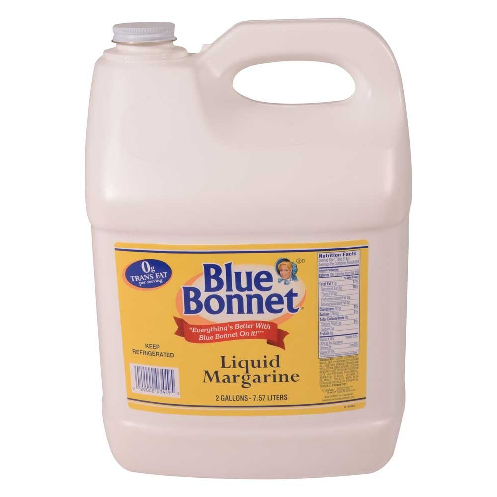 Conagra Blue Bonnet Liquid Margarine, 2 Gallon -- 3 per case. by ConAgra (Image #1)