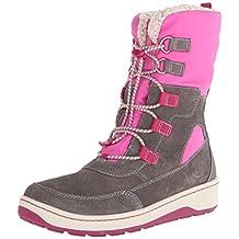 Timberland Winterfest WP Boot (Toddler/Little Kid/Big Kid),Grey/Pink,5 M US Toddler