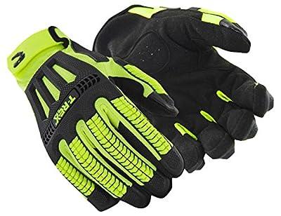 Hi-Viz Cut Resistant Impact Work Gloves