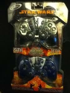 Amazon.com: PS2 Star Wars Sith Vs. Jedi Controller 2 Pack