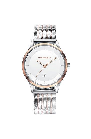 Reloj Viceroy Mujer 42288-97 Malla Bicolor Acero: Amazon.es ...