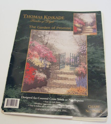 The Garden of Promise Needlepoint or Cross Stitch Chart (Needlepoint Chart)