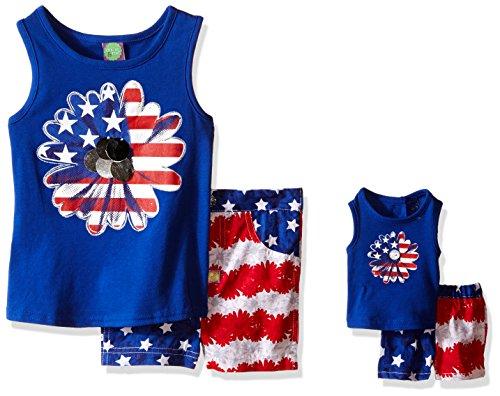 Dollie Me Americana Printed Shorts